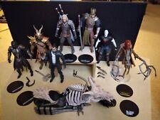 Lot McFarlane Action Figures MORTAL KOMBAT Cyberpunk WITCHER DC Multiverse More
