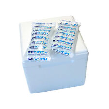 Isolating box 3,5L (225x225x195 mm) Styrofoam Cooler Thermobox and Cooling gel