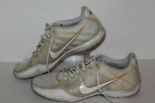 Nike Zoom Sister One + Running Shoes, #344986-111, Wht/Gold, Womens US Size 7.5