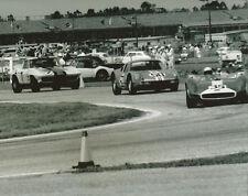 Vintage 8X10 Auto Racing Photo Daytona 1964 Scarab, Porsche 904 & Corvette
