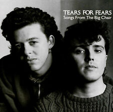 TEARS FOR FEARS Songs from the Big Chair CD FULL SILVER
