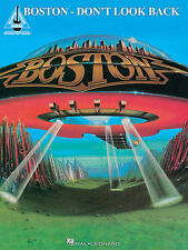 BOSTON TOM SCHOLZ DON'T LOOK BACK GUITAR TAB SONG BOOK