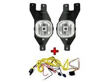 ** DEPO 2001-2004 Ford Superduty Replacement Fog Light Set + Wire Harness