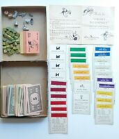 Vintage Parker Brothers Monopoly Board Game Pieces 1935 - 1947 Copywright