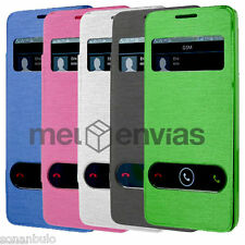 Funda Flip Cover Ventana para Orange Daytona / Huawei Ascend G510 Colores Varios