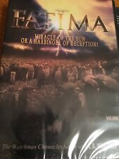 Fatima  (DVD) UFO L.A. Marzulli Watchers Factory Sealed FAST SHIPPING