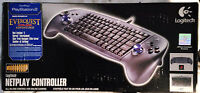 Logitech Netplay Controller for PS2 PS1 PS Sony PlayStation 2 USB Keyboard Game