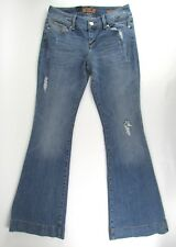 """Seven7 Premium Denim Distressed Ripped """"Sexy Flare"""" Jeans (Size: 28) 30"""" x 33"""""""