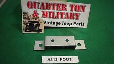 Jeep Willys MB GPW WWII truck Fire extinguisher bracket mounting foot  G503