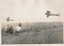 IVRY LA BATAILLE c. 1930 - Front de Combat Avions Tirs de Mitrailleuses- PRM 422