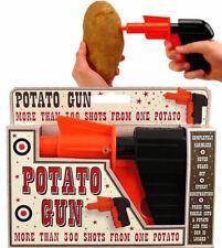 Spud Gun Potato Shooter Toy Boys Girls Kids Shooting Classic Childrens Fun Gift