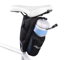 Bicycle Bike Cycling Rear Seat Bike Saddle Black Water Bottle Black Bag