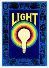LIGHT #1 in VF/NM a 1971 Underground Comic Light Comitragie Greg Irons 1st Print