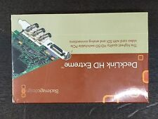 Blackmagic Design Decklink HD Extreme Video Capture Card