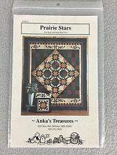 Prairie Stars Quilt Pattern Heather Mulder Designer Anka's Treasures ANK226