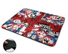 Stickerbomb Union Jack Premium Quality Flexible Rubber Mouse Mat / Mouse Pad