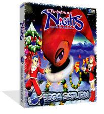 Christmas Nights Saga Sega Saturn Replacement Case + Box Art Work Cover No Game