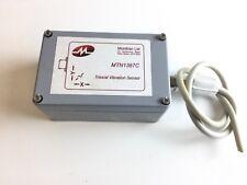 Capteur sismique tri axial  Vibration Sensor Monitran MTN1387C PRO