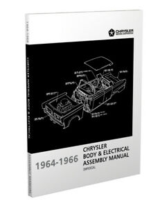 1964 1965 1966 Imperial Body and Electrical Assembly Manual Chrysler Factory