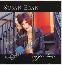 SUSAN EGAN - COFFEE HOUSE - Signed / Autographed CD