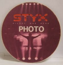 Styx / Tommy Shaw - Original Cloth Tour Backstage Pass