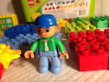 Lego Duplo große Brick Box 5506 komplett 71 teilig Aufbewahrung Eimer/Mülleimer Kleinkind Spielzeug