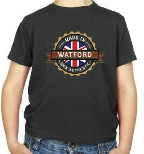 Made In Watford Kids T-Shirt - Hometown - City - Place - Town - FC