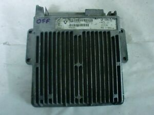 calculateur Renault safir 1 débloqué 7700107694 magneti ( immo off ) (réf 0059)