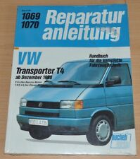 VW Transporter T4 2,0l 1,9l 2,4l Benzin Diesel Motor Reparaturanleitnung B1069