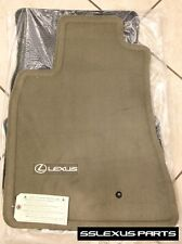 Lexus GS300 GS400 GS430 (1998-2005) OEM Genuine 4pc CARPET FLOOR MATS Ivory/Tan