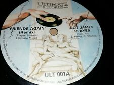 "NOT JAMES PLAYER * FRIENDS AGAIN ( REMIX ) * 7"" SINGLE VERY GOOD 1981 JAZZ FUNK"