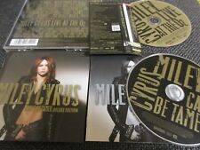 MILEY CYRUS / can't be tamed  /JAPAN LTD CD&DVD OBI delux edition