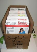 SIMPLICITY Choice Misses/Womens Plus Size Fashion Sewing Patterns (Sizes 20-28W)