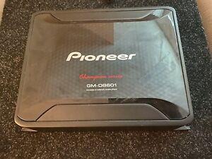 Pioneer GM-D8601 Class D Monoblock Amplifier 800W - Black