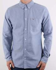 Tommy Hilfiger Jeans Tommy Hilfiger Classic Long Sleeve Shirt in Light Navy Blue