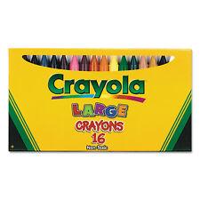 Crayola Large Crayons 16 Colors/Box 520336