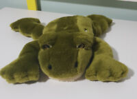 FLAT FRIENDS FROG HAND PUPPET PLUSH TOY! KIDS SOFT TOY ABOUT 30CM LONG!