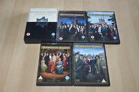 lot 5 Coffrets DVD Dowton Abbey season 1 2 3 et 4 + london season + a journey..