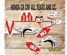 HONDA CR CRF 85 125 150 250 450 Graphics Kit Sticker Kit Decals 2018