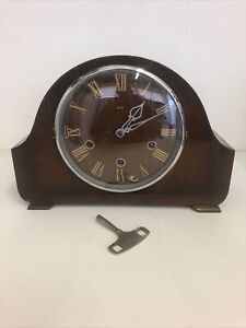 Smiths Vintage Floating Balance Westminster Chime Mantle Clock - spares/repair