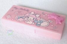 Brand-NEW SANRIO My Melody KAWAII Very Small Accessory Case Pink Resin Ribbon