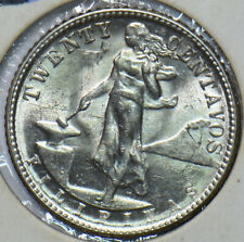Philippines 1945 D 20 Centavos Eagle animal UNC 294764 combine shipping