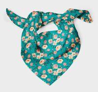 Bimba fleur de pommier aquarelle écharpe soie foulard avec bandanas -WC-517D