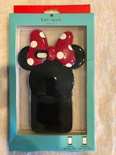 Kate Spade New York Silicone Case iPhone 6/6s Minnie Mouse Red Bow Polka Dot Ear