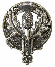 Premium SCOTTISH THISTLE Badge or Brooch. Robust & Quality made in the UK