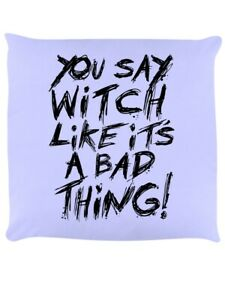 Cushion You Say Witch Lilac