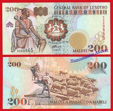 LESOTHO LESOTO 200 Maloti 1994 Pick 20  SC  /  UNC