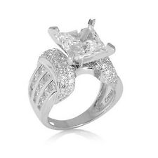 VICTORIA WIECK 4.6 CT ABSOLUTE KALEIDOSCOPE SQUARE-CUT AND ROUND RING SIZE 6 HSN