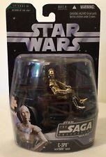 Star Wars C-3PO With Ewok Throne 042 the saga collection 2006