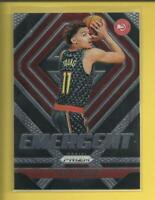 Trae Young RC 2018-19 Panini Prizm Emergent Rookie Card # 5 Atlanta Hawks NBA